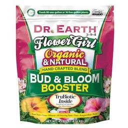 DR. EARTH 4 lbs. Organic Flower Girl Bud and Bloom Fertilizer-100518430 - The Home Depot   The Home Depot