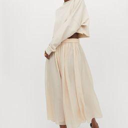 Circular skirt | H&M (UK, IE, MY, IN, SG, PH, TW, HK, KR)