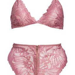 Floral Lace Bralette & High Waist Panties SetOH LA LA CHERI   Nordstrom