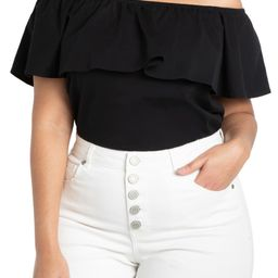 Off the Shoulder Ruffle Top | Nordstrom