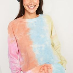 Vintage Specially Dyed Crew-Neck Sweatshirt for Women | Old Navy (US)