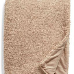 Teddy Faux Fur Oversize Throw Blanket | Nordstrom