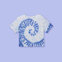 Girls' Tie-Dye Boxy Short Sleeve T-Shirt - More Than Magic™ | Target