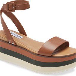 Marco Platform Ankle Strap Sandal | Nordstrom