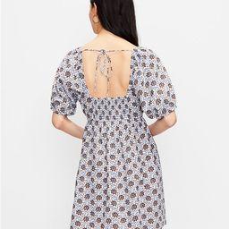 LOFT Beach Floral Square Neck Mini Dress | LOFT | LOFT