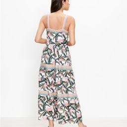 Paradise Tiered Maxi Dress | LOFT | LOFT