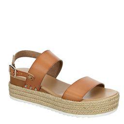 BROWN XAPPEAL Womens Amelia Wedge Sandal   Rack Room Shoes