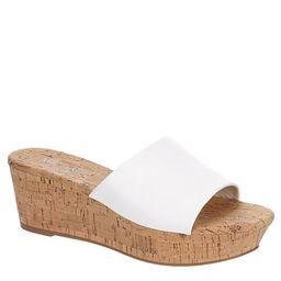WHITE MICHAEL BY MICHAEL SHANNON Womens Ibiza Wedge Sandal   Rack Room Shoes