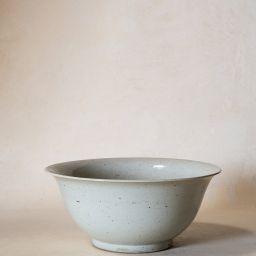 Vintage White Glaze Bowl   McGee & Co.