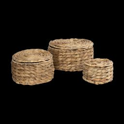Natural Woven Baskets (Set of 3)   McGee & Co.