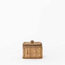 Woven Cane Tuscan Box   McGee & Co.