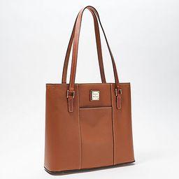 Dooney & Bourke Pebble Leather Small Lexington Shopper   QVC
