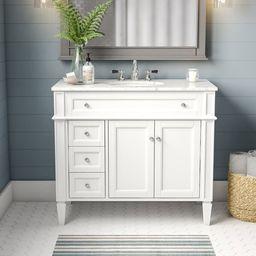 "Antionette 40"" Single Bathroom Vanity Set | Wayfair North America"