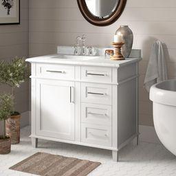 "Newport 36"" Single Bathroom Vanity | Wayfair North America"