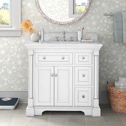 "Myron 36"" Single Bathroom Vanity Set | Wayfair North America"