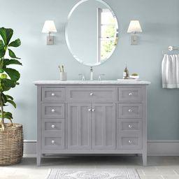 "Moffett 48"" Single Bathroom Vanity Set   Wayfair North America"