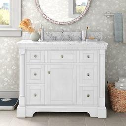 "Myron 42"" Single Bathroom Vanity Set | Wayfair North America"