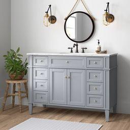 """Eneas 48"""" Single Bathroom Vanity Set   Wayfair North America"""