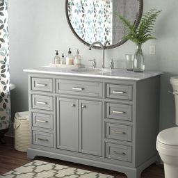 """Rossi 48"""" Single Bathroom Vanity Set   Wayfair North America"""