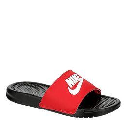 RED NIKE Mens Benassi Slide Sandal   Rack Room Shoes