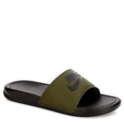 OLIVE NIKE Mens Benassi Jdi Slide Sandal   Rack Room Shoes