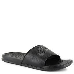 BLACK NIKE Mens Benassi Jdi Slide Sandal   Rack Room Shoes