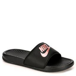 BLACK NIKE Womens Benassi Slide Sandal   Rack Room Shoes