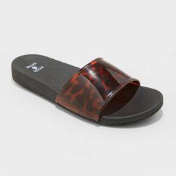 Women's Pixie Slide Sandals - Shade & Shore™   Target