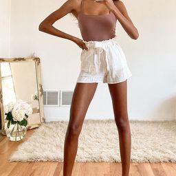 Danyelle Cocoa Brown Ribbed Sleeveless Bodysuit   Lulus (US)