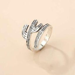 Cactus Design Ring | SHEIN