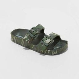 Kids' Noa Slip-On Footbed Sandals - Cat & Jack™ | Target