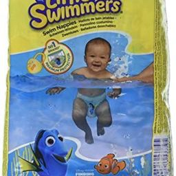 Huggies Little Swimmers Disposable Swim Diapers, X-Small (7lb-18lb.), 12-Count | Amazon (US)