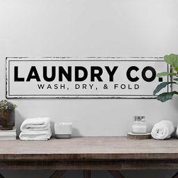 Laundry Co. Metal Wall Plaque | Kirkland's Home