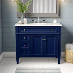 "Antionette 40"" Single Bathroom Vanity Set   Wayfair North America"