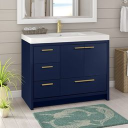 "Alphonse 42"" Single Bathroom Vanity Set   Wayfair North America"