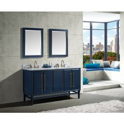 "Donahue 61"" Double Bathroom Vanity Set | Wayfair North America"