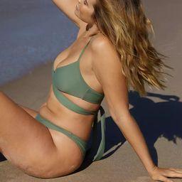 Aerie Wrap Halter Bikini Top | American Eagle Outfitters (US & CA)