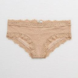 Aerie Eyelash Lace Cheeky Underwear | American Eagle Outfitters (US & CA)
