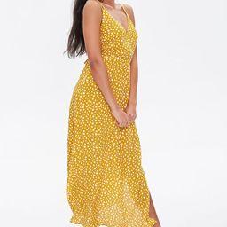 Spotted Print M-Slit Dress | Forever 21 (US)