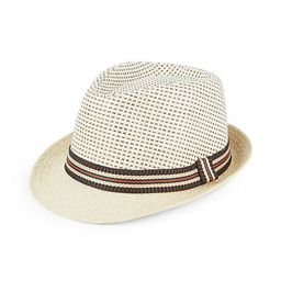 Banded Straw Fedora | Saks Fifth Avenue OFF 5TH
