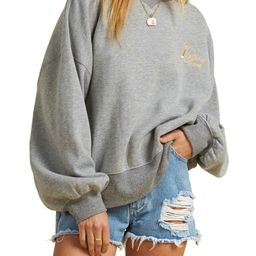 x The Salty Blonde Vacation Mode Relaxed Sweatshirt | Nordstrom
