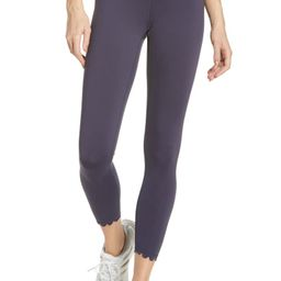 Scallop Active High Waist Leggings | Nordstrom