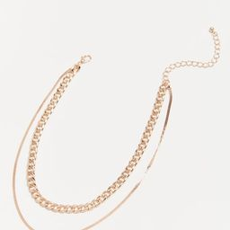 Curb Chain Layer Necklace | Urban Outfitters (US and RoW)