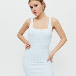 UO Paige Gingham Bodycon Tank Dress | Urban Outfitters (US and RoW)