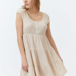 UO Jessica Waffle Frock Dress | Urban Outfitters (US and RoW)