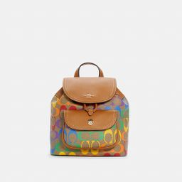 Pennie Backpack 22 in Rainbow Signature Canvas   Coach Outlet