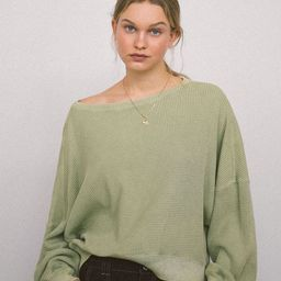 Out From Under Luciana Thermal Long Sleeve Top | Urban Outfitters (US and RoW)