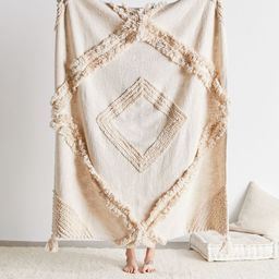 Aden Tufted Throw Blanket   Urban Outfitters (US and RoW)