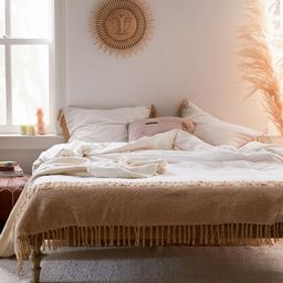 Zahara Crochet Duvet Cover   Urban Outfitters (US and RoW)