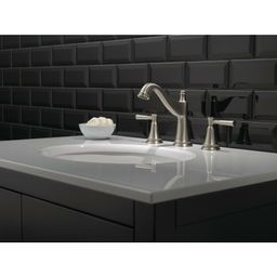35777LF-SP Mylan Widespread Bathroom Faucet with Drain Assembly and SpotShield Technology   Wayfair North America